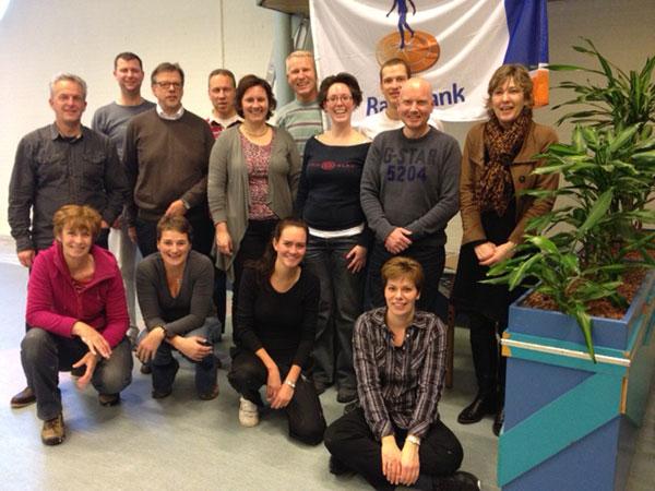 Medewerkers Rabobank klussen in De Bieslandhof - Pieter ...