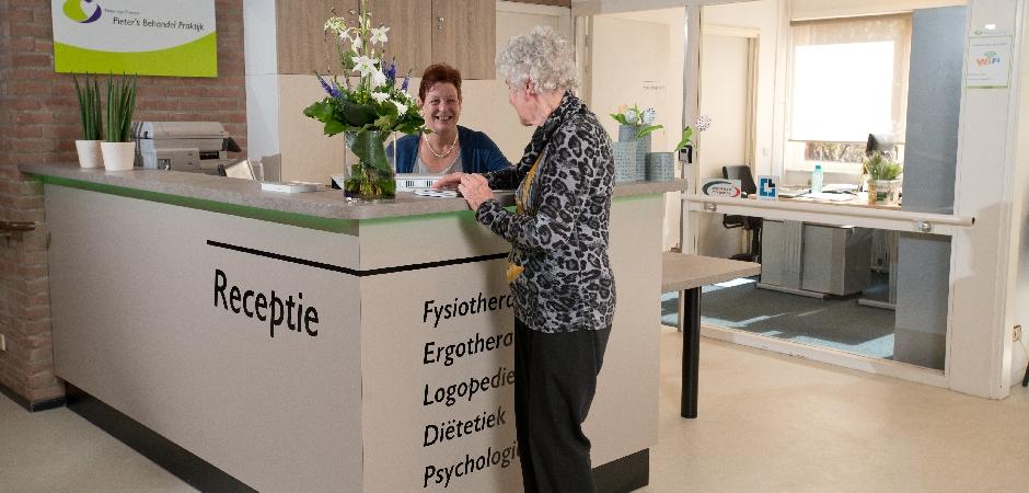 receptie Pieters Behandel Praktijk